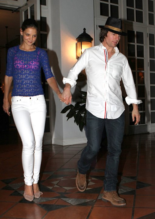 Tom Cruise Katie Holmes miami