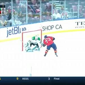 Jhonas Enroth Save on Brandon Pirri (00:00/SO)