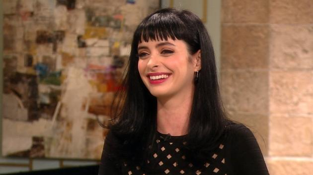 Krysten Ritter stops by Access Hollywood Live on November 13, 2012 -- Access Hollywood