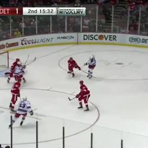 Jimmy Howard Save on Mats Zuccarello (04:50/2nd)