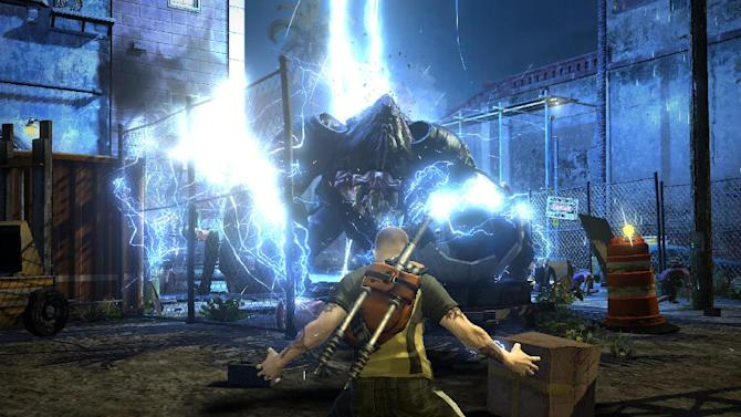 """In this video game image released by Sony Computer Entertainment, a scene is shown from """"inFamous 2."""" (AP Photo/Sony Computer Entertainment)"""