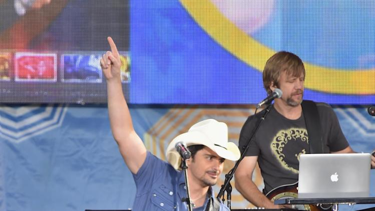 "Brad Paisley Performs On ABC's ""Good Morning America"""