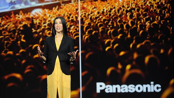 IMAGE DISTRIBUTED FOR PANASONIC - Lisa Ling seen during the Panasonic keynote presentation at the International Consumer Electronics Show 2013, on Tuesday, Jan. 08, 2013, in Las Vegas, NV. (Photo by Al Powers/Invision for Panasonic/AP Images)