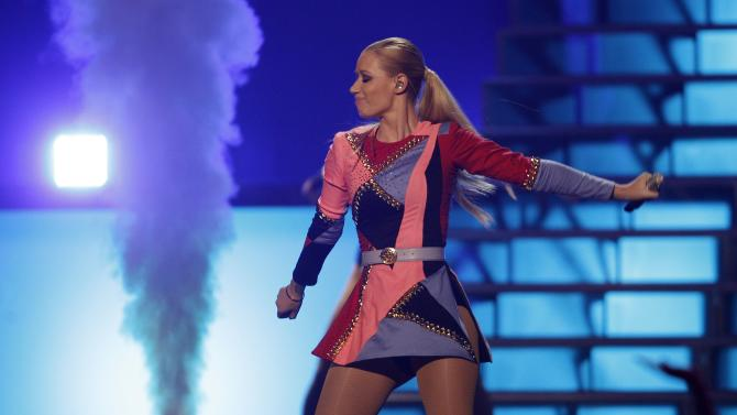 Australian recording artist Iggy Azalea performs during the 2014 iHeartRadio Music Festival in Las Vegas performs during the 2014 iHeartRadio Music Festival in Las Vegas