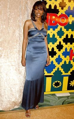 Aisha Tyler HBO Post Award Reception Griff's Restaurant - Beverly Hills, CA - 1/16/05