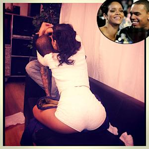 Rihanna Straddles, Hugs Chris Brown in New Instagram Picture