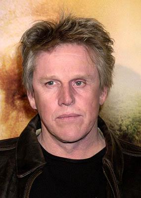 Gary Busey at the Westwood premiere of Collateral Damage