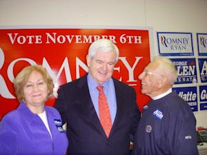 First Person: At the Gingrich Meet and Greet in Virginia