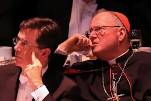 Stephen Colbert Pops the Pope at Catholic Charity Gala