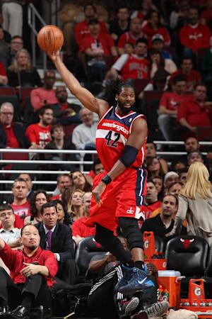 Wizards' Nene ejected for scuffle against Bulls
