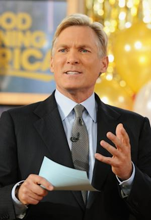 Sam Champion attends ABC's Good Morning America at ABC News' Good Morning America Times Square Studio on November 28, 2012 -- Getty Images