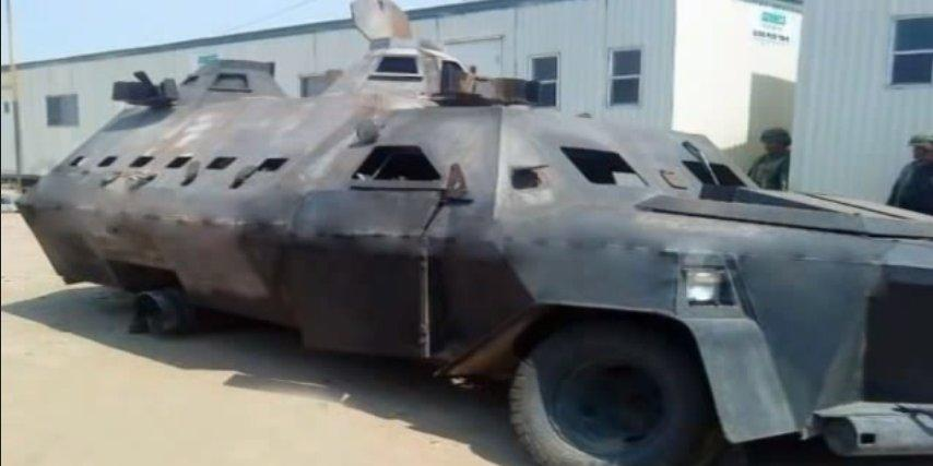 These are the features of Mexico's monstrous home-made narco tanks