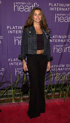 Sofia Vergara Sotheby's Celebrity Heart Pendant Auction Beverly Hills, CA - 2/12/2002