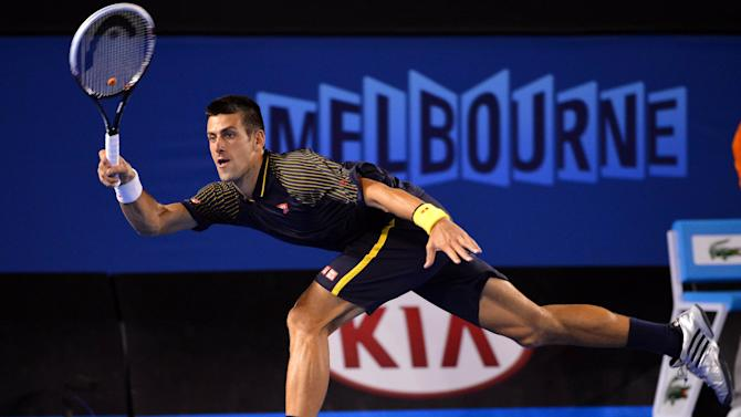 TENNIS: Australian Open-Djokovic vs Wawrinka