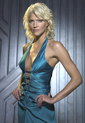"Tricia Helfer as Number Six Sci-Fi's ""Battlestar Galactica"""