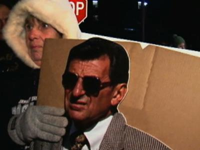 Joe Paterno Remembered at Penn State Vigil