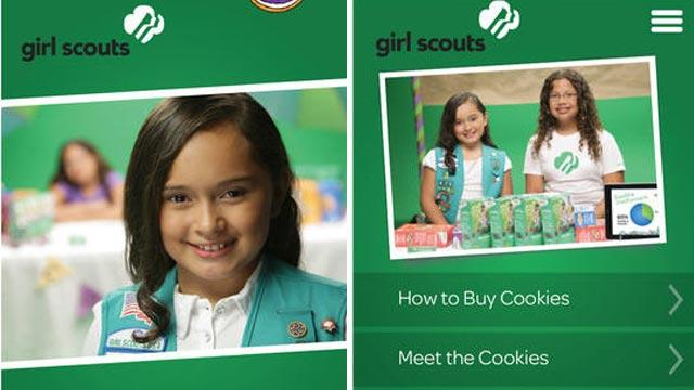 Girl Scouts Go Mobile With Cookie App