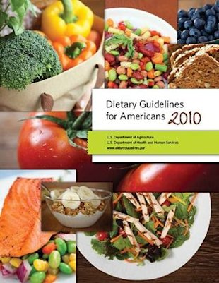 Dietary guidelines cover