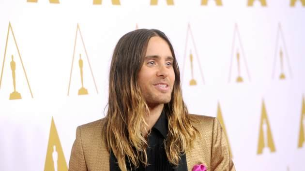 Jared Leto attends the 86th Academy Awards nominee luncheon at The Beverly Hilton Hotel on February 10, 2014 in Beverly Hills -- Getty Images