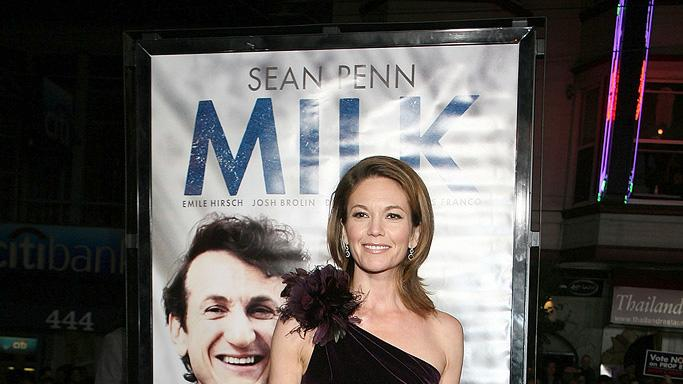 Milk San Francisco Premiere 2008 Diane Lane