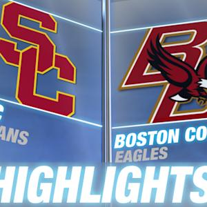 USC vs Boston College | 2014-15 ACC Men's Basketball Highlights