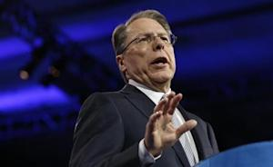 National Rifle Association CEO LaPierre speaks at CPAC in National Harbor, Maryland