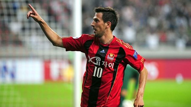 Dejan Damjanovic of South Korea&#39;s FC Seoul (AFP)