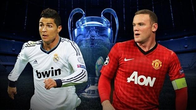 Saison 2012/2013: Real Madrid vs. Manchester United