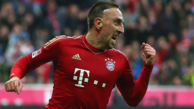 Saison 2012: Bayern vs. Frankfurt, Franck Ribery