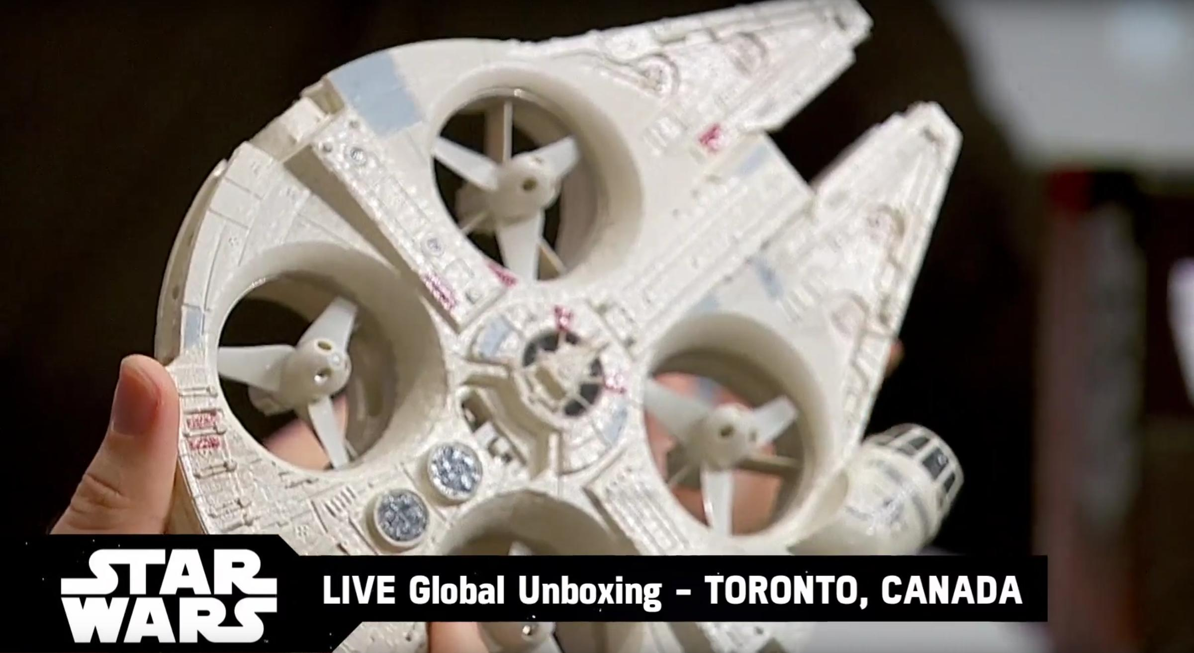 Millenium Falcon Drone Lets You Play Han Solo