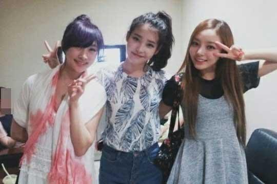 IU, Kara's Goo Hara and Nicole Prove They're Actually BFFs