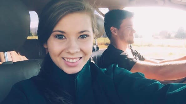 Bindi Irwin posted the sweetest goodbye message to her boyfriend, and our hearts are melting and breaking all at once