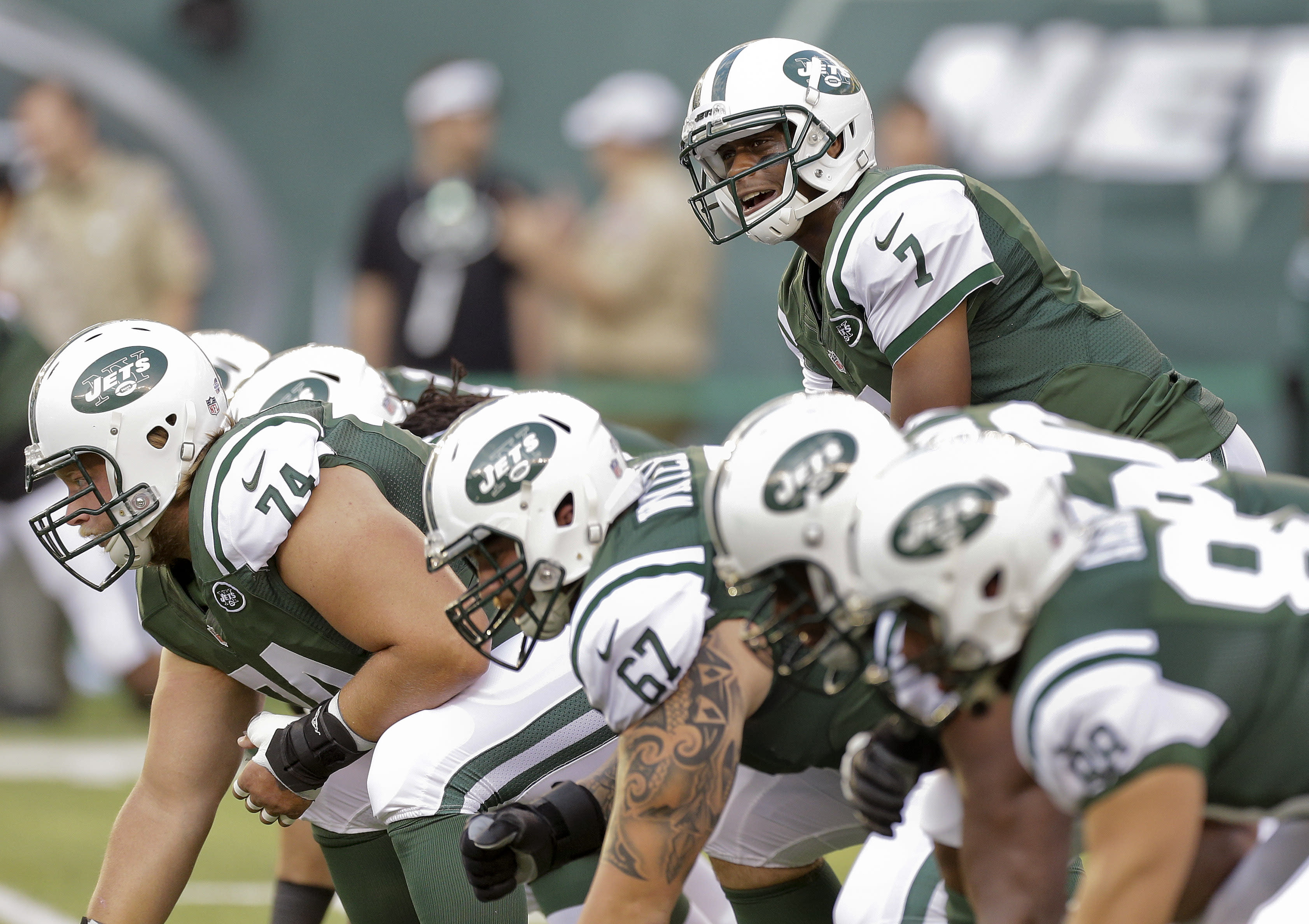Smith sees himself as Jets' QB 'for a long time'