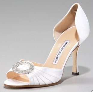 Drug smugglers disguised cocaine as Manolo Blahnik heels. Photo courtesy of Neiman Marcus