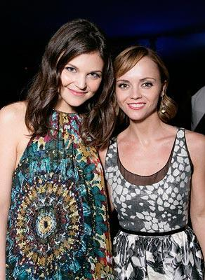 Ginnifer Goodwin and Christina Ricci at the Los Angeles premiere of Warner Bros. Pictures' Speed Racer