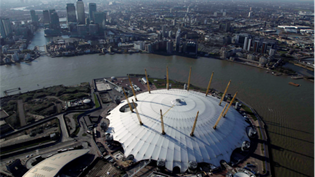 North Greenwich Arena, a London 2012 venue