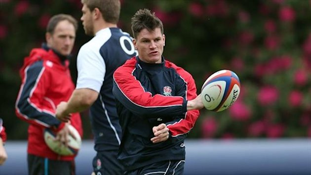 Gloucester's Freddie Burns scored 20 points for England