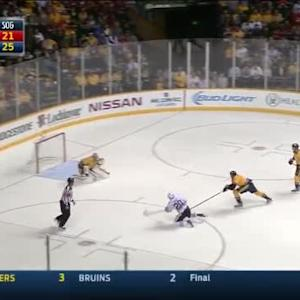 Pekka Rinne Save on Brandon Saad (07:12/3rd)