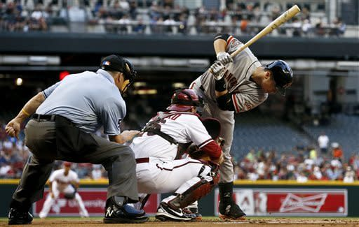 Giants end 5-game skid with 6-4 win over D-backs