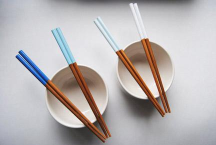 Paint-dipped Chopsticks