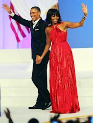 Michelle Obama's Inaugural Ball Dress: All the Details