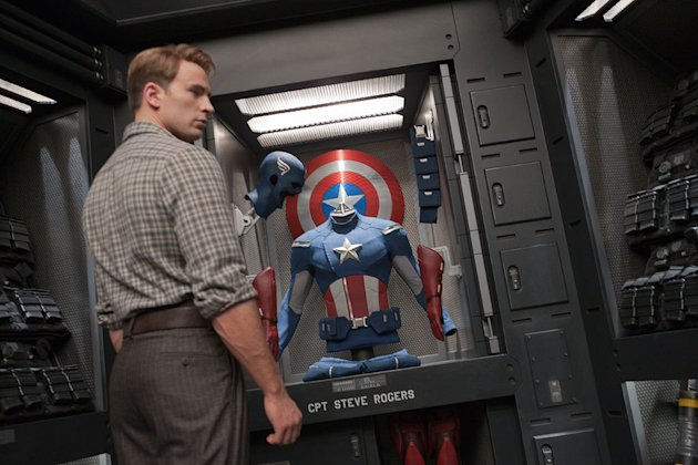 The Avengers 2012 Paramount Chris Evans