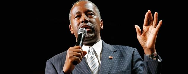 Ben Carson, retired neurosurgeon, surging in polls