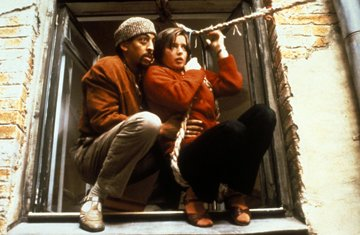 Gregory Hines and Isabella Rossellini in Columbia Pictures' White Nights