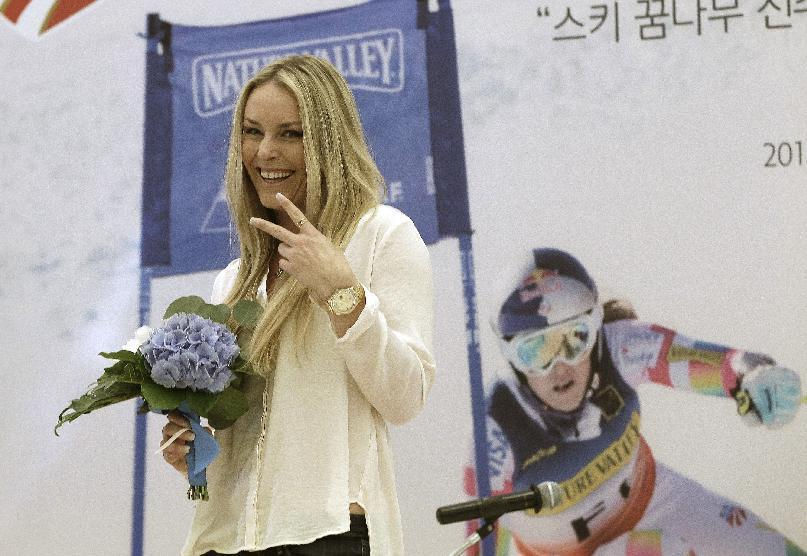 Lindsey Vonn named honorary ambassador for the 2018 Winter Olympics