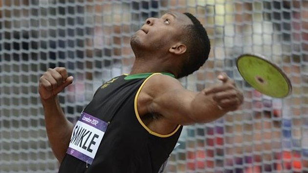 Jamaica's Traves Smikle (AFP)