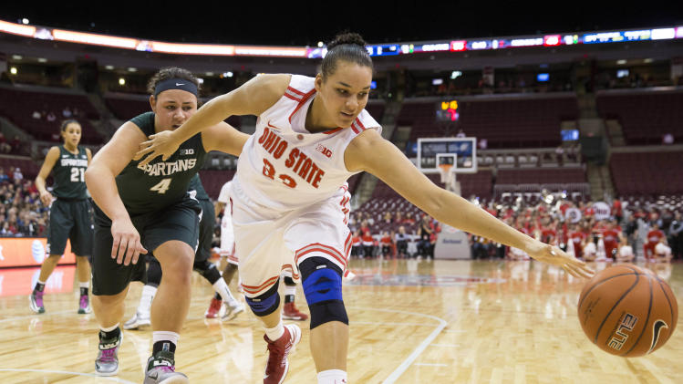 NCAA Womens Basketball: Michigan State at Ohio State
