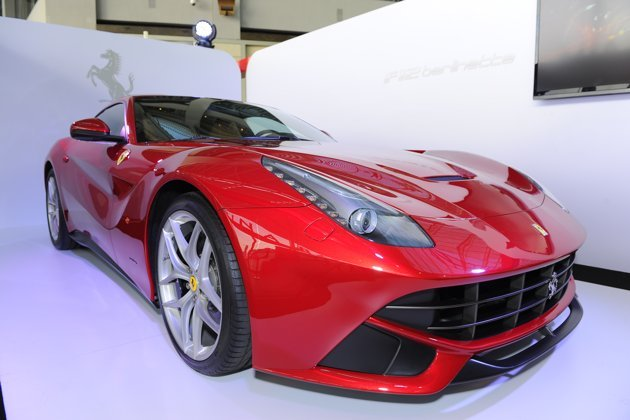 Ferrari launched F12berlinetta, its fastest and most powerful road car ever, at the Marina Bay Sands, Singapore.