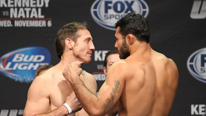 UFC Fight for the Troops 3 Weigh-in Results: Kennedy and Natal Hit the Mark