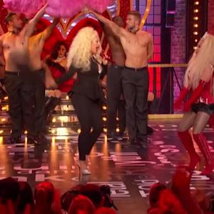 Christina Aguilera Crashes Hayden Panettiere's Amazing 'Lip Sync Battle' Performance